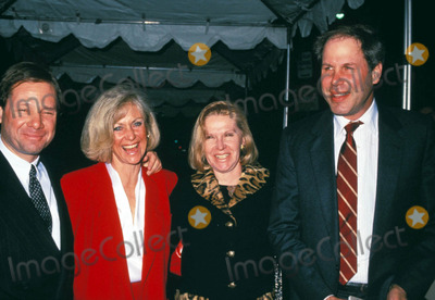 JFK Photo - Michael Ovitz and Wife Michael Eisner and Wife Jfk Premiere 12-17-1991 Photo by Phil Roach-ipol-Globe Photos
