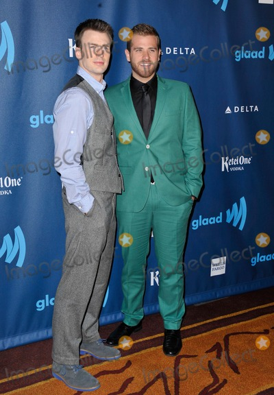 SCOTT EVANS Photo - Scott Evans Chris Evans attending the 24th Annual Gladd Media Awards Held at the Jw Marriott at LA Live in Los Angeles California on April 20 2013 Photo by D Long- Globe Photos Inc