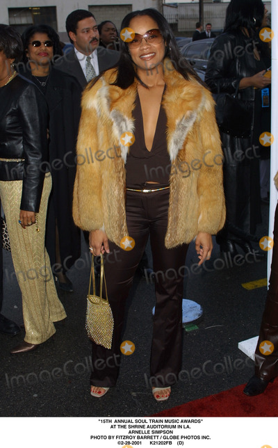 Arnelle Simpson Photo - 15th Annual Soul Train Music Awards at the Shrine Auditorium in LA Arnelle Simpson Photo by Fitzroy Barrett  Globe Photos Inc 2-28-2001 K21202fb (D)