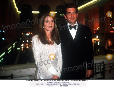JFK Jr Photo - Caroline Kennedy