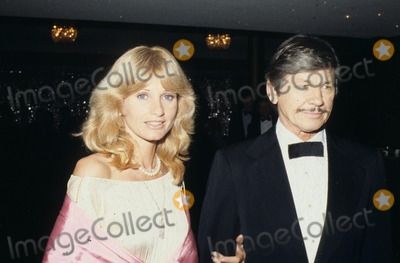 Jill Ireland Photo - Jill Ireland with Chas Bronson R31178 Supplied by Globe Photos Inc