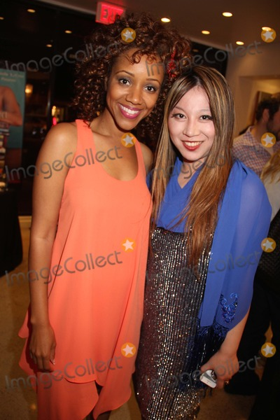 Chrystee Pharris Photo - Natasha Mccreas Evolution of a Love Addict Book Launch Cocktail Party Hosted by Chrystee Pharris Nicole Miller Store West Hollywood CA 10222014 Chrystee Pharris and Alice Aoki Clinton H WallaceGlobe Photos Inc