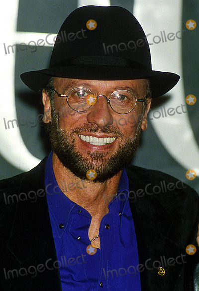 Bee Gees Photo - Bee Gees at Press Conference to Announce Their One Night Only Concert Dates  London Enland 6021998 Photo Uppa Ipol Globe Photos Inc 1998 Maurice Gibb Mauricegibbretro