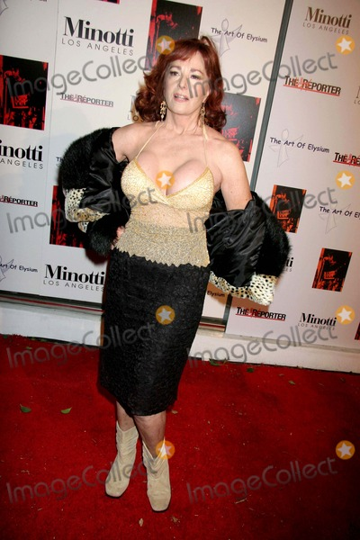 Edy Williams Photo - the Art of Elysiums Annual Art Benefit Sponsored by Bally and the Hollywood Reporter Minotti Los Angeles CA 12-02-2006 Edy Williams Photo Clinton H Wallace-photomundo-Globe Photos Inc