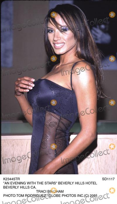Tracy Bingham Photo - Sd1117  an Evening with the Stars Beverly Hills Hotel Beverly Hills CA Traci Bingham Phototom Rodriguez  Globe Photo Inc (C)