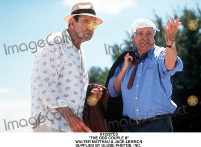 Walter Matthau Photo - the Odd Couple Ii Walter Matthau  Jack Lemmon Supplied by Globe Photos Inc