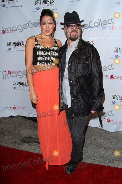 Gillian Jacobs Photo - Colbie Caillat David a Stewart Attend the Tj Martell Foundations 3rd Annual Artworks For the Cure Charity Event Held at the Barker Hangar October 12 2013 Santa Monicacaliforniausa Photo TleopoldGlobephotos