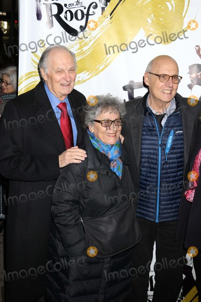 Alan Alda Photo - Alan Alda Wife Arlene Jeffrey Tamber at Opening of Fiddler on the Roof at Broadway Theatre 1681 Broadway 12-20-2015 John BarrettGlobe Photos 2015