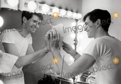 Anthony Perkins Photo - Anthony Perkins Dressing Room on Broadway Photo Tom CaffreyGlobe Photos Inc