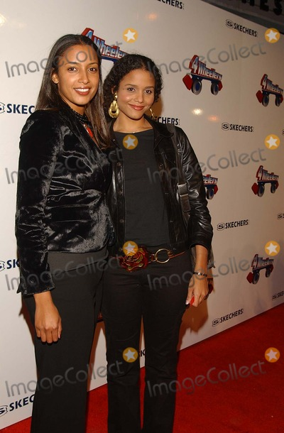 Anika Poitier Photo -  4 Wheelers by Sketchers a Roller Disco-moroccan Style Debuting the Exclusive 4 Wheelers Design by Tracey Ross Hollywood Pladium Hollywood CA 04182002 Sydney Poitier and Anika Poitier Photo by Amy GravesGlobe Photosinc2002 (D)
