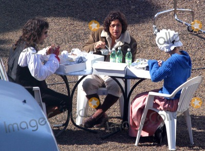 Adriano Giannini Photo - BadiaLapresseGLOBE PHOTOS INC10-03-03 Rome ItalyFilmOn the set of the film Luisa San Felice In the cast of this film there are Laetitia Casta and Adriano Giannini the son of the italian actors Giancarlo In the photo a breakK29548US RIGHTS ONLY