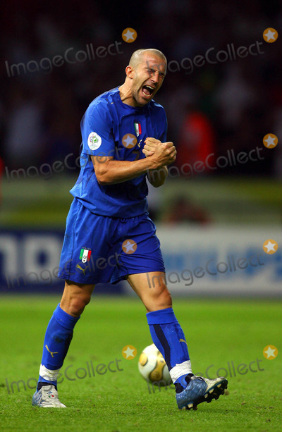 Alessandro Del Piero Photo - Alessandro Del Piero Celebrates World Cup Victory Italy V France Alessandro Del Piero Italy V France Olympic Stadium Berlin Germany 07-09-2006 K48556 Photo by Allstar-Globe Photos