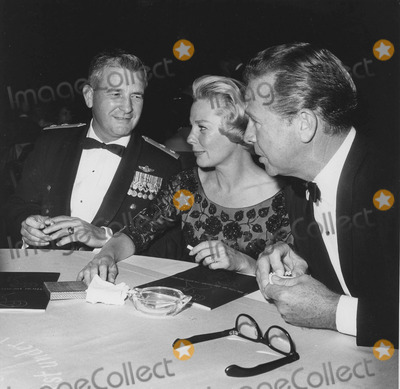 June Allyson Photo - June Allyson with Dick Powell and Robert Allen at the Dress ballsupplied by Globe Photos Inc