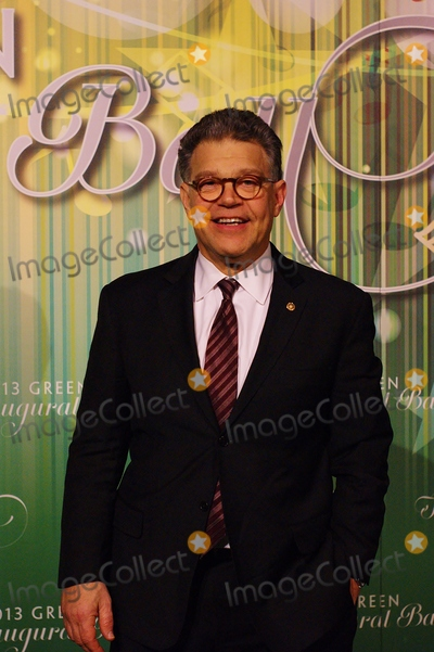 Al Franken Photo - Sen Al Franken(d-mn) Walks the Green Carpet at the Green Inaugual Ball Held at the Newseum in Washington DC on 1202013 Photos by Jeff Newman-Globe Photos Inc