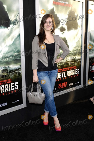 Katie Featherston Photo - Katie Featherston During the Premiere of the New Movie From Warner Bros Pictures Chernobyl Diaries Held at the Arclight Cinerama Dome on May 23 2012 in Los Angeles Photo Michael Germana - Globe Photos Inc
