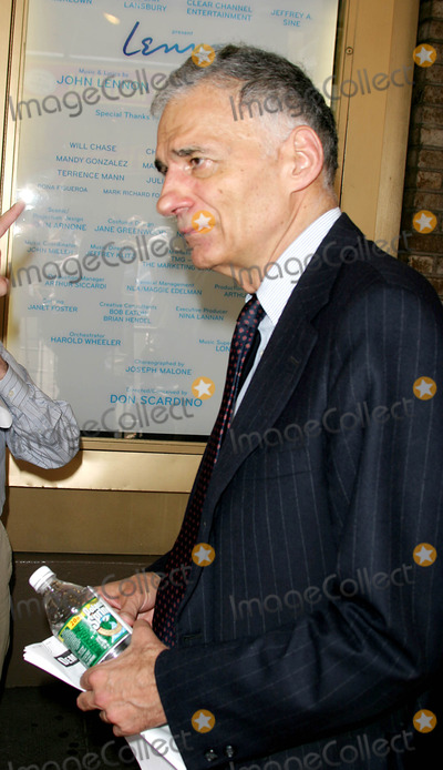 Ralph Nader Photo - Opening Night of  Lennon  on Broadway at the Broadhurst Theatre in New York City 8-14-2005 Photo Byrick Mackler-rangefinders-Globe Photos Inc 2005 Ralph Nader Ralph Nader