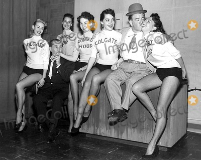 Lou Costello Photo - Bud Abbott and Lou Costello with the Colgate Comedy Hour Chorus Girls SmpGlobe Photos Inc