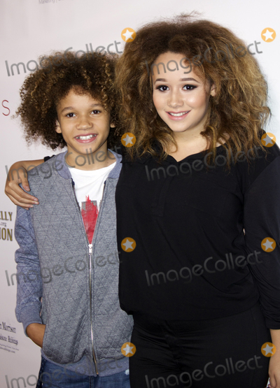 Armani Jackson Photo - Armani Jackson and Talia Jackson arrive at the 25th LA Music Awards