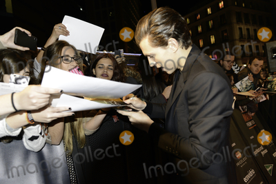 Tom Holland Photo - Tom Holland signs autographs for fans -En el corazn del Mar- (In the heard of the sea) premiere at MAdrid Premiere Week 2015 in Madrid