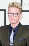 Tyler Oakley,Grammy Awards Photo - 57th Annual GRAMMY Awards - Arrivals