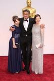 Pawel Pawlikowski,Agata Trzebuchowska,Agata Kulesza,Pawel? Pawlikowski Photo - 87th Annual Academy Awards - Arrivals