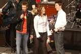 Ryan Seacrest,Kelly Clarkson,Clay Aiken Photo - Clay Aiken and Kelly Clarkson On Air With Ryan Seacrest