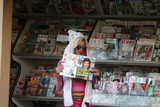 Photo - Frenchy Morgan spotted in a Hello Kitty outfit at a Newsstand