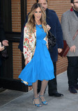 Photos From Sarah Jessica Parker is seen arriving to