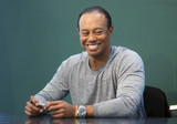 Photos From Tiger Woods at a book signing of 'The 1997 Masters: My Story'