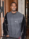 Photos From Kim Kardashian and Kanye West sighting in Paris, France