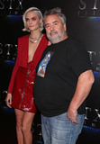Photo - Photo by REWestcomstarmaxinccomSTAR MAXCopyright 2017ALL RIGHTS RESERVEDTelephoneFax (212) 995-119632817Cara Delevingne and Luc Besson at the STX Films presentation of The State Of The Industry Past Present And Future during CinemaCon 2017 at Caesars Palace(Las Vegas Nevada)
