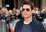 THE ROCK,Tom Cruise Photo - Rock Of Ages Premiere