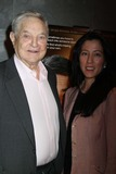 George Soros,Harvey Weinstein Photo - The Intouchables Screening-nyc