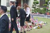 Ronald Prescott Reagan,Ronald Reagan,Patti Davis,President Ronald Reagan,THE GATES,Nancy Reagan,Former President Ronald Reagan Photo - Ronald Reagan Funeral