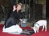 Emma Thompson Photo - Emma Thompson Monkey the Pig Actress Emma Thompson Honored with a Star on the Hollywood Walk of Fame Hollywood CA 08-06-2010 Photo by Graham Whitby Boot-allstar-Globe Photos Inc 2010