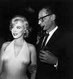 Arthur Miller,Marilyn Monroe Photos - Marilyn Monroe and Arthur Miller Photo Nate CutlerGlobe Photos Inc