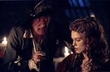 Geoffrey Rush Photo - Pirates of the Caribbean  Curse of the Black Pearl Movie Stills Supplied by Globe Photos Inc Geoffrey Rush and Kiera Knightley Disneywars