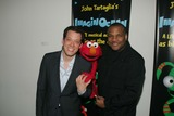 Elmo,John Tartaglia Photo - Imaginocean Opening Night New York City