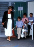 Prince,Prince William,Princess Diana Photos - Prince William_henry and Princess Diana Photo by Dave Chancellor-alpha-Globe Photos Inc 07-17-