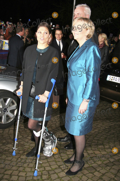 Princess Victoria of Sweden Photo - 28th January 2014 - Princess Victoria of Sweden during a visit in Dusseldorf Credit Schuhmannface to face