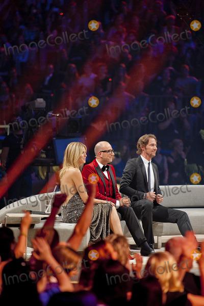 Thomas Hayo Photo - Heidi Klum Thomas Rath Thomas Hayo at the finals of Germanys Next Topmodel at the Koelnarena Cologne Germany 07062012Credit wcrARTface to face