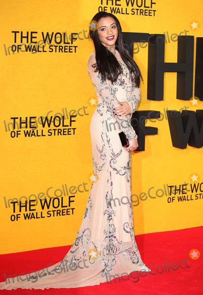 Amal Fashanu Photo - LONDON ENGLAND - JANUARY 09 - Amal Fashanu arriving for the UK Premiere of The Wolf Of Wall Street Odeon Leicester Square London on Thursday 9th January 2014 Credit Capital Picturesface to face- Germany Austria Switzerland and USA rights only -