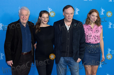 Yvonne Catterfeld Photo - Andre Dussollier Yvonne Catterfeld director Christophe Gans Lea Seydouxattends Photocall and Press Conference BEAUTY AND THE BEAST Berlinale 14022014Credit Ralleface to face