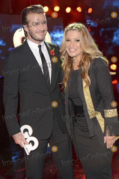 Anastacia Photo - David Beckham Anastacia attending the GQ Award (Maenner des Jahres 2013) at Komische Oper Berlin 07112013Credit E Schroederface to face
