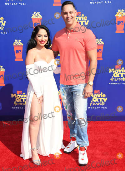 Angelina Pivarnick Photo - 15 June 2019 - Santa Monica California - Angelina Pivarnick 2019 MTV Movie and TV Awards held at Barker Hangar Photo Credit Birdie ThompsonAdMedia