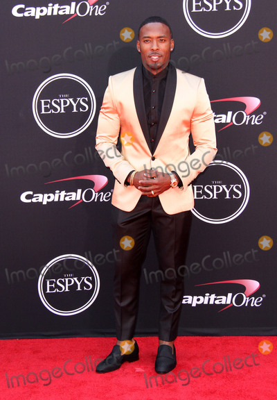 Andrew Hawkins Photo - 12 July 2017 - Los Angeles California - Andrew Hawkins 2017 ESPYS Awards Arrivals held at the Microsoft Theatre in Los Angeles Photo Credit AdMedia