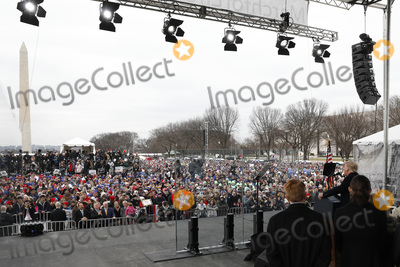 The National Photo - United States President Donald J Trump delivers remarks at the 47th annual March for Life on the National Mall in Washington DC on January 24 2020 Credit Yuri Gripas  Pool via CNPAdMedia