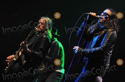Ian Astbury Photo - 03 June 2012 - Pittsburgh PA - Lead vocalist IAN ASTBURY and bassist CHRIS WYSE of the legendary British rock band THE CULT perform at a stop on their 2012 US Tour to support their new album Choice of Weapon held at the Stage AE  Photo Credit Devin SimmonsAdMedia