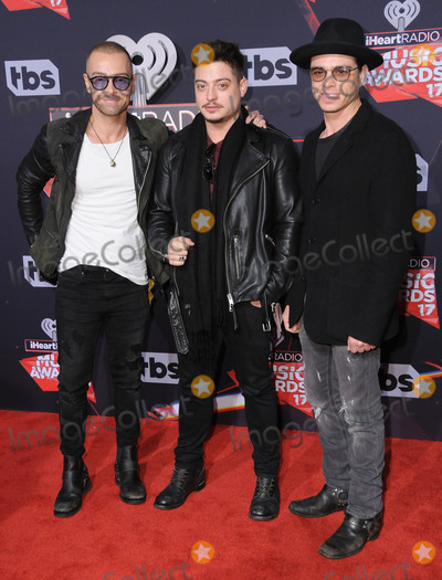 Anrdew Lawrence Photo - 05 March 2017 - Inglewood California - Joey Lawrence Anrdew Lawrence Matthew Lawrence  2017 iHeartRadio Music Awards held at The Forum in Inglewood Photo Credit Birdie ThompsonAdMedia