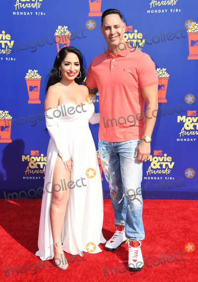Angelina Pivarnick Photo - 15 June 2019 - Santa Monica California - Angelina Pivarnick 2019 MTC Movie and TV Awards held at Barker Hangar Photo Credit Birdie ThompsonAdMedia